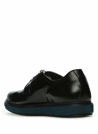 Barrett 101498537 Logolu Erkek Deri Ayakkabı Siyah